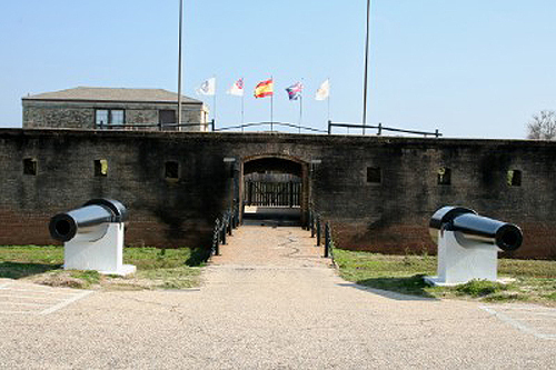 Fort Gaines Entrance 2008