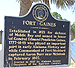 Fort Gaines historic marker