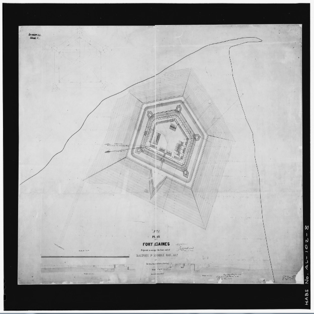 Fort Gaines Construction Plan