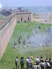 Fort Gaines Re-reenactors Land Battle
